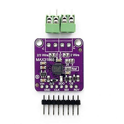 Lanceasy PT100 MAX31865 RTD Temperatur-Thermoelement Sensor Verstärker Modul für Arduino
