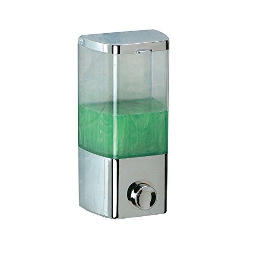 Rayen 2026 Dispenser per Sapone, 1 Scompartimento, 400 ml di capacità, Plastica, Bianco