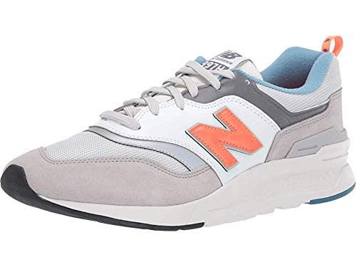 New Balance Men's 997H V1 Sneaker, RAIN Cloud/Dark Mango, 10.5 D US