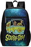Zaini Scooby-Doo Mystery Machine Van Graphic Boys,Girls,Youth Woman's Men's Fashionable Backpack