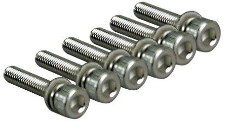 Traxxas 5142 Hex-Drive Caphead Machine Screws, 3x15mm (set of 6)