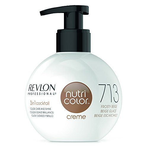 REVLON PROFESSIONAL Nutri Color Creme 713 Kühles Beige (270 ml)
