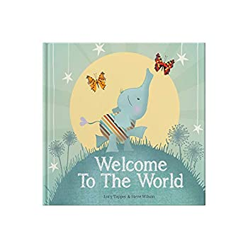 Welcome to the World   keepsake gift book for a new baby