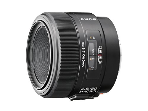 Sony 50mm f/2.8 Macro Lens for Sony Alpha Digital...