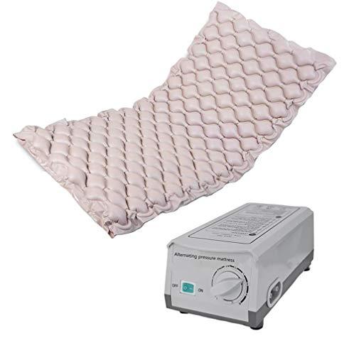 Colchón Masaje de Presión de Aire PVC Antiescaras de aire con compresor for Ulcers & Bed Sores, Masajeador corporal almohadillas de masaje