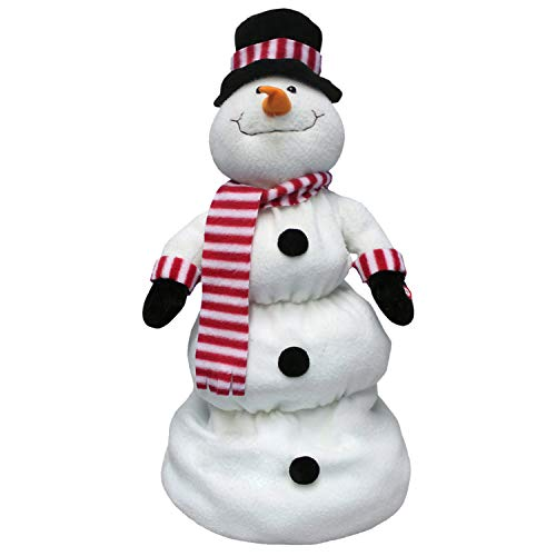 Up and Down Singing Snowman - Top Hat Snowman Christmas Decoration