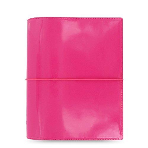 Filofax 022482 Organizer A5 Domino Kalender: 1 Woche 2 Seiten multilingual hochglänzendes Kunstleder, pink, 2020