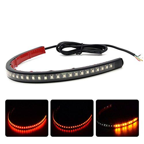 Bande lumineuse universelle flexible pour moto et voiture - 3258 LED SMD