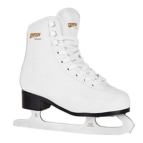TEMPISH Damen Dream Eiskunstlaufschlittschuhe, Weiß, White, 38
