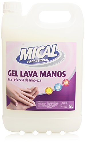 Mical Profesional - Gel lava manos - pH neutro - 5 l