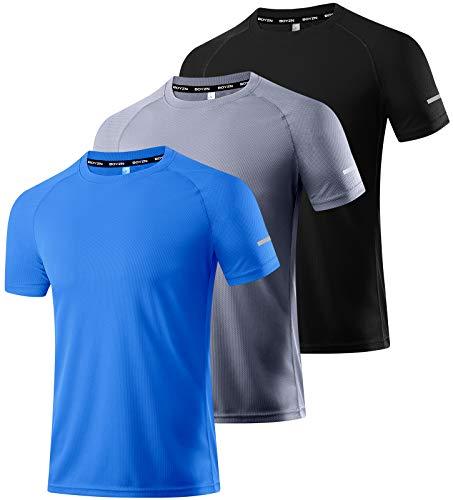 3 Packs Workout Shirts for Men -...