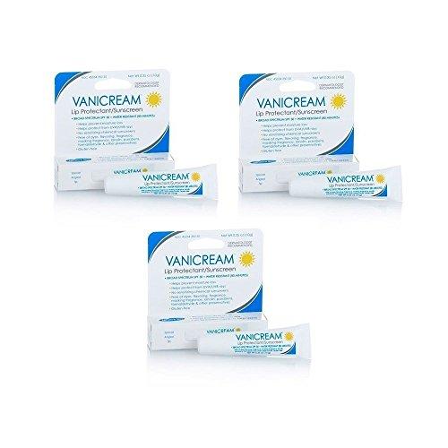 Vanicream Lip Protectant SPF 30 - 0.35 (10g) Tube (Set of 3)