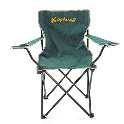 DJ-stoelen, hoogpresterende klapstoel, grote campingstoel, draagbare gevoerde stoel, lendensteun, klapstoel