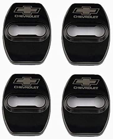 4 Unids Cubierta de la Cerradura de la Puerta del AutomóVil, para Chevrolet Cruze Aveo Captiva Acero Inoxidable Car Styling Proteccion Accesorios Cubierta Antioxidante