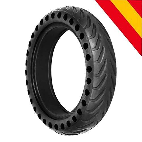 """HORO.ES Repuesto Neumático Rueda 8,5"""" sólido para Scooter Eléctrico Xiaomi Scooter M365 - Negro (1)"""
