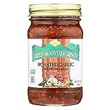 Green Mountain Gringo Roasted Garlic Salsa (16 oz Jars) 2 Pack