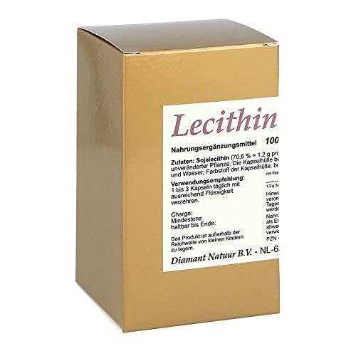 Lecithin 1200 Kapseln, 100 St