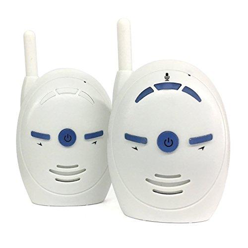 ParaCity Audio Baby Monitor 2.4Ghz Wireless Digital Baby Monitor 2-way Talk Back with UK Plug