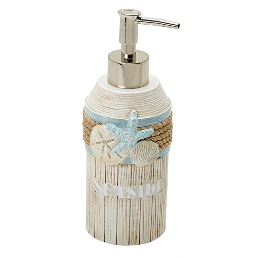 Zenna Home India Ink Seaside Serenity Lotion or Soap Dispenser