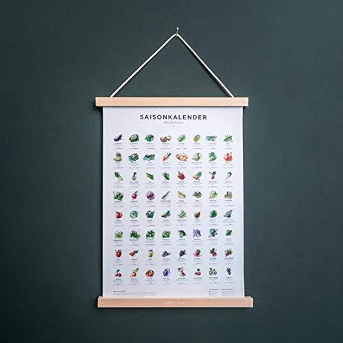 Saisonkalender Obst&Gemüse FARBE (Format A3)