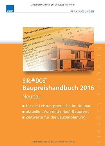 sirAdos Baupreishandbuch 2016: Neubau