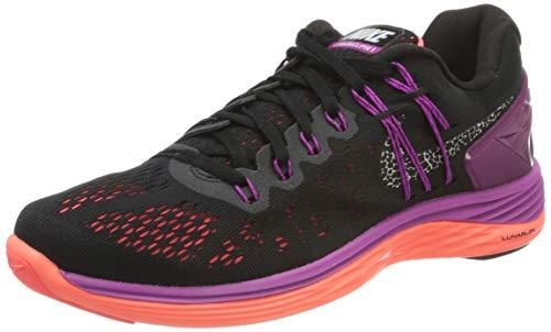NIKE Nike LunarEclipse 5, Damen Laufschuhe, Mehrfarbig (Schwarz / Violett), 36.5 EU