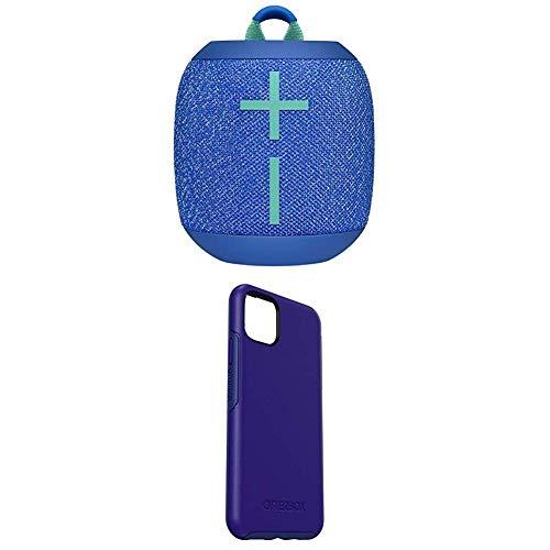 Ultimate Ears WonderBoom 2, mobiler kabelloser Bluetooth-Lautsprecher, blau + Symmetry Elegante & dünne Schutzhülle für iPhone 11 Pro Max Sapphire Secret - Blau
