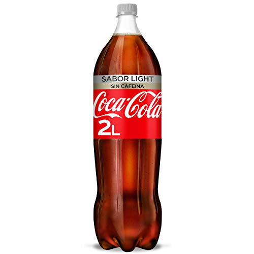 Coca-Cola Light Sin Cafeína - Refresco de cola sin azúcar, sin calorías...