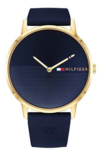 Tommy Hilfiger Reloj Analógico para Mujer de Cuarzo con Correa en Silicona 1781968