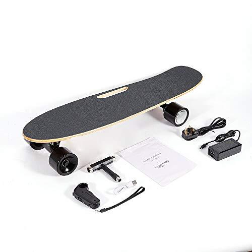 20 km / h skateboard eléctrico longboard E skateboard city scooter eléctrico, con motor / control remoto hasta 10 km