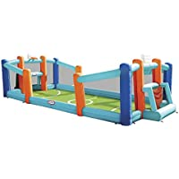 Little Tikes Huge Inflatable Backyard Soccer & Basketball Bouncer