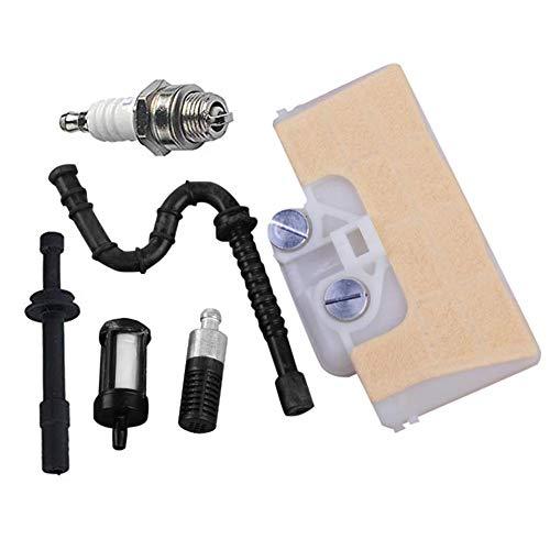 Luftfilter Für STIHL 029 039 MS290 MS310 MS390 Kettensäge Mit Öl Kraftstofffilter Zündkerze Tuning Kit Luftfilter + Zündkerze + Kraftstoff- / Schlauchfilter