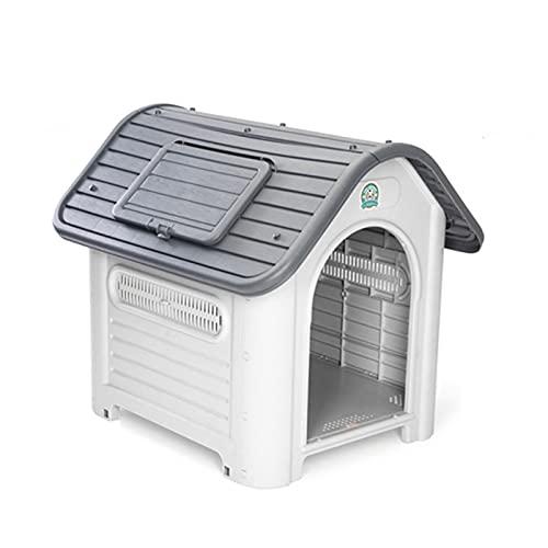 Cucce Casa per Animali Domestici Cuccia per Cani All'aperto Casa per Cani alla Moda Cuccia per Cani in Plastica Calda E Ventilata per Interni Ed Esterni Impermeabile