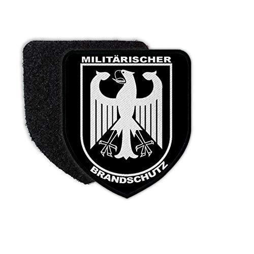 Copytec Patch Militärischer Brandschutz Bundeswehr Feuerwehr Wehrleute Bund #34094