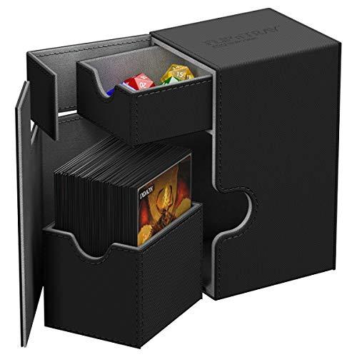 Ultimate Guard UGD010221 - Flip und Tray Deck Case 80+, Xeno Skin, Standardgröße, schwarz