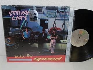 STRAY CATS Built For Speed LP EMI America ST-17070 SHRINK album Brian Setzer