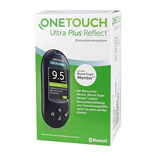 One Touch Ultra Plus Reflect Blutzuckermesssystem in mmol/l,