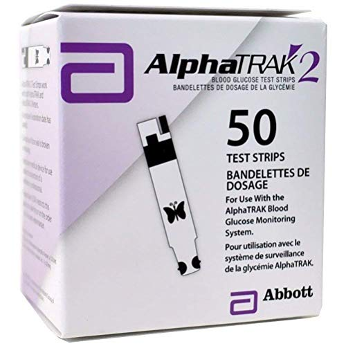 AlphaTRAK 2 Pet Blood Glucose test strips Dogs Cats diabetes...