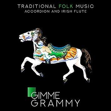 Traditional Folk Music - Accordion and Irish Flute