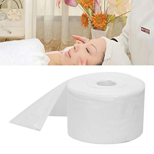 Toallitas secas de algodón desechables, paño suave de doble uso Toalla de maquillaje de limpieza en seco y húmedo Toallas cosméticas Removedor Almohadillas de algodón para revestimiento