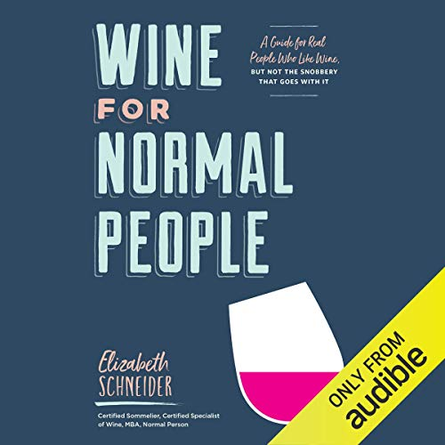 Wine for Normal People audiobook cover art