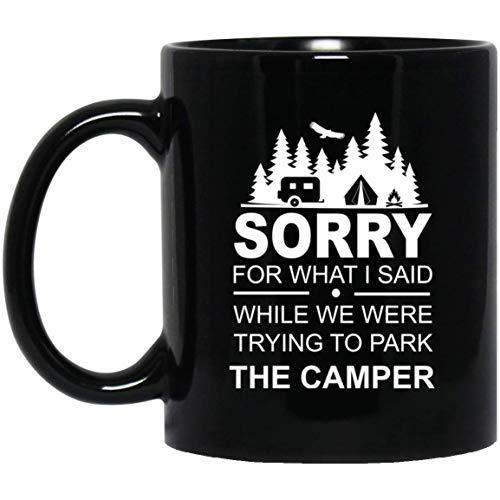 Queen54ferna Divertido regalo de camper – Regalo de camping – Taza de Rv Camper – Divertida taza Camper 11 oz