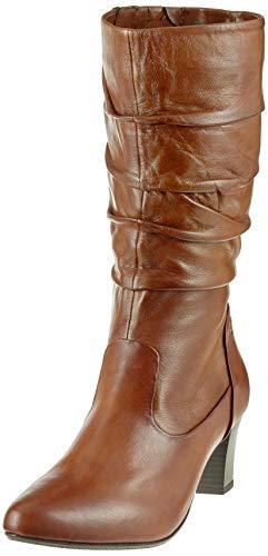Gerry Weber Shoes Damen Lena 22 Stiefeletten, Braun (Cognac 370), 42 EU