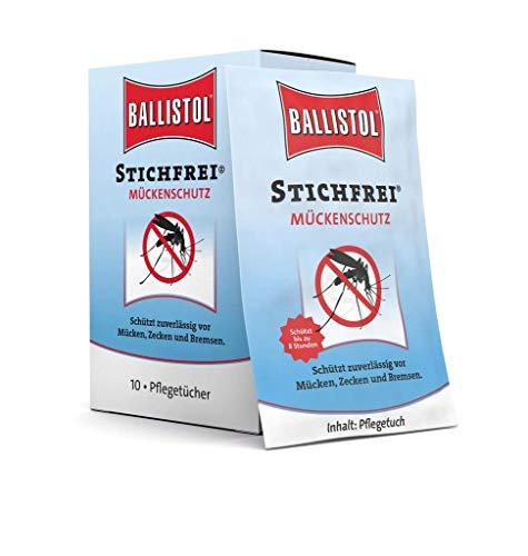 Ballistol Stichfrei Tücher Box à 10 Sachets, 26780