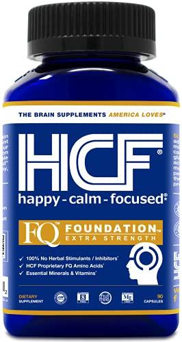 HCF Happy Calm Focused Brain Supplement