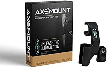 Royer AxeMount - Dual Microphone Mount for 57 + Royer 121