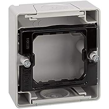 Simon 4400751-035 - Base Caja Estanca Gris 1 Elemento S.44 Aqua ...