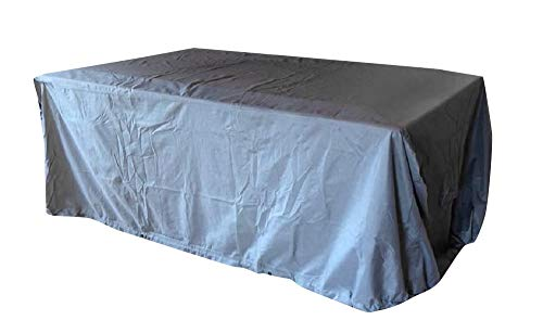 Kingsbridge 7FT Pool Table Cover Heavy Duty 600D Fabric Water Resistant-Double Stitching-Protects from dust, dirt and spilt liquids.(not for outdoor use)