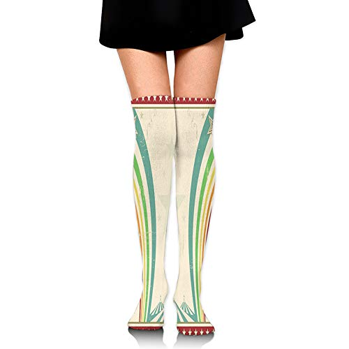 Custom PINK FLAMES Knee Socks Crossfit OLY Soccer Volleyball Running Football