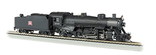 Bachmann Industries Trains Usra Light 2-8-2 Dcc Ready Rock Island #2319 With Medium Tender Ho Scale Steam Locomotive